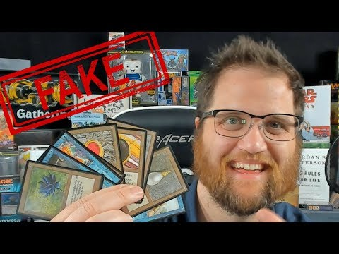 I BOUGHT $100,000 IN COUNTERFEIT MAGIC CARDS