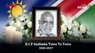 Andimba Toivo ya Toivo funeral, Windhoek: 24 June 217