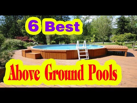 Best Above Ground Pools to Buy in 2017