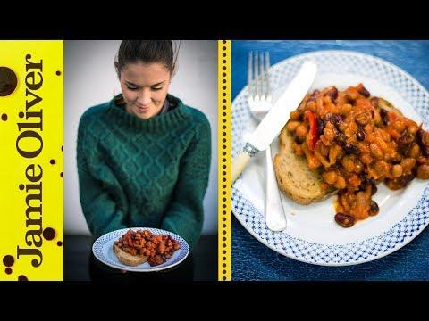 Healthy Baked Beans | Katie Pix