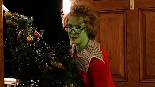 Crazy Grandma Steals Christmas!