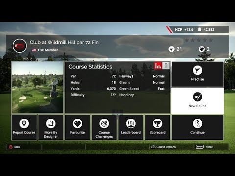 The Golf Club 2 (PS4 Pro) - Course Review - Club at Wildmill Hill