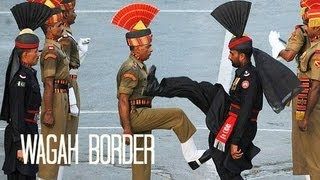 WAGAH BORDER CEREMONY واگها वाघा (Pakistan 15)