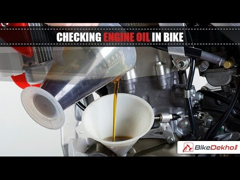 How to Determine Your Bike Needs Engine Oil Change | BikeDekho.com
