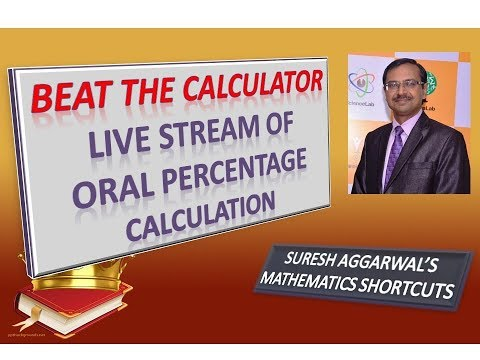 Calculate All Percentages Mentally - Live Stream