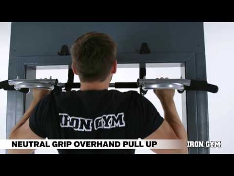 Neutral Grip Overhand Pull Up - IRON GYM® Training Academy