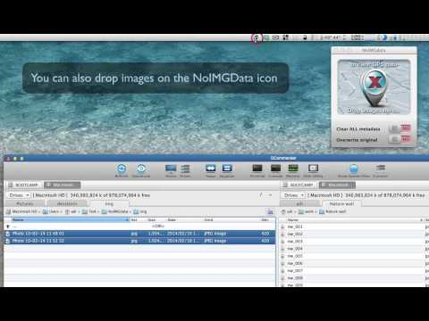 Removing GPS data from photos with NoIMGData