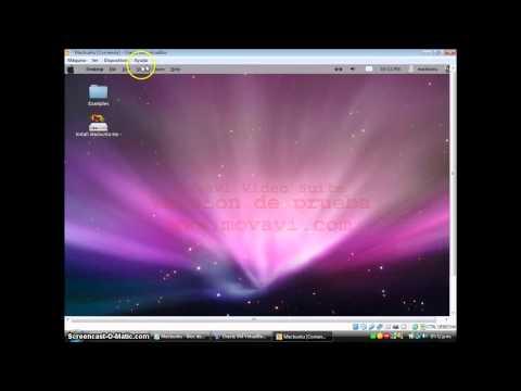 Como instalar Macbuntu en VirtualBox
