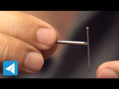 Iron nail as a temporary magnet | Magnetism | Physics