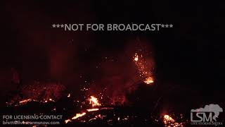 5-16-2018 Kapoho, Hi Fissure 16 active with cone volcano spitting lava after Kilauea eruption 4k
