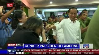 Presiden Jokowi Bikin Heboh Pengunjung Mal di Palembang