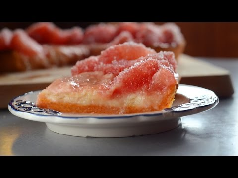 Layered Grapefruit Tart with Almond Cream Recipe