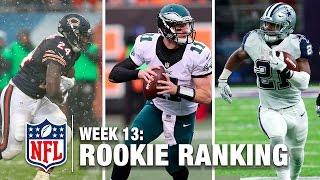 Top 10 Rookies Through Week 13 | Bucky Brooks on NFL Now | NFL