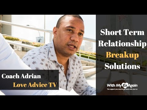 Short Term Dating Break Up Recovery Gameplan: Approach And Solutions To Get An Ex Back Permanently