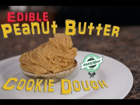 Easy to make - Edible Peanut Butter Cookie Dough DDK EP 35