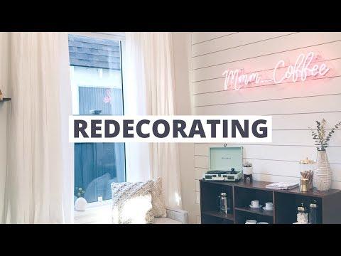 Re-Decorating The House | Coffee Corner Decor!