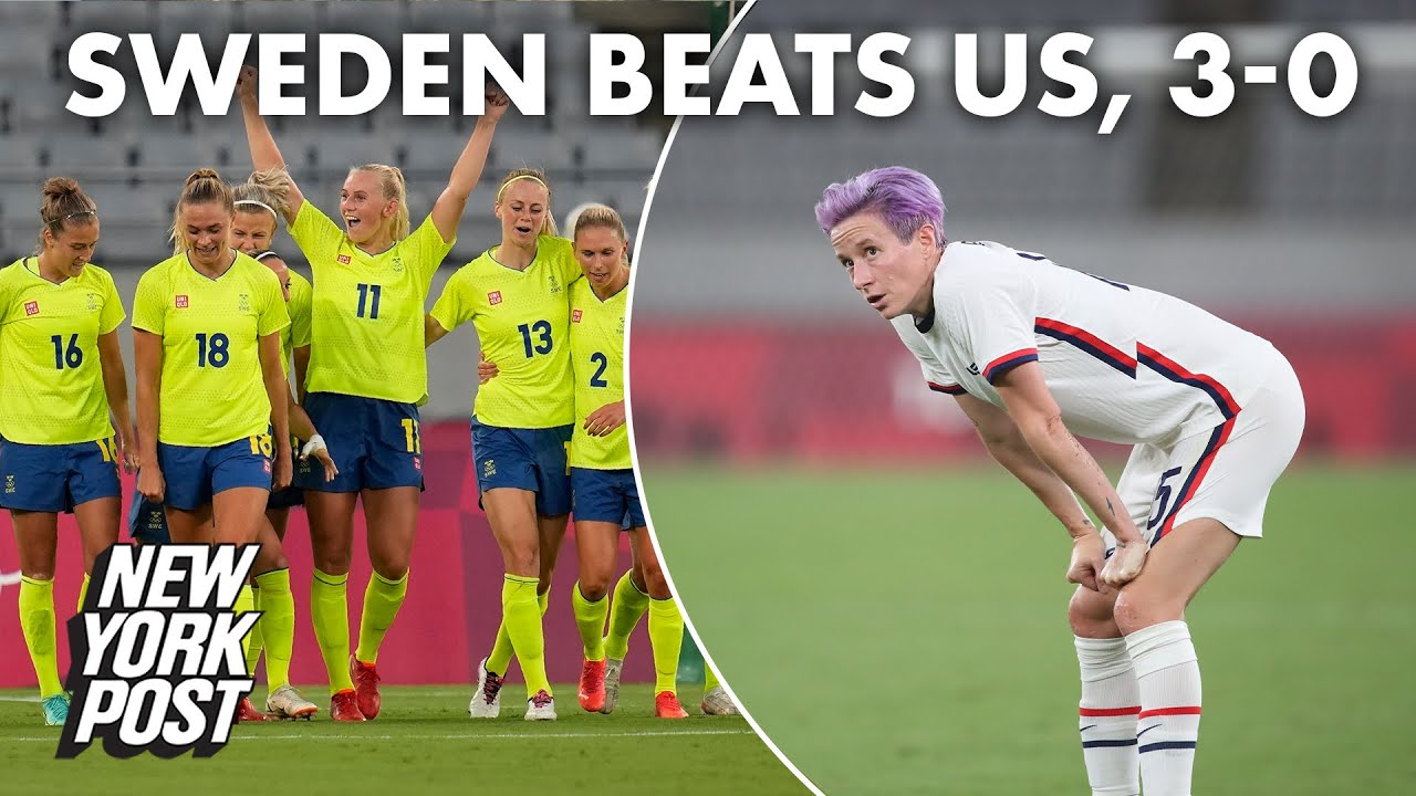 USWNT annihilated by Sweden in Olympics opener   New York Post