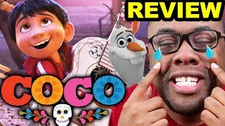COCO Movie Review... and Olaf