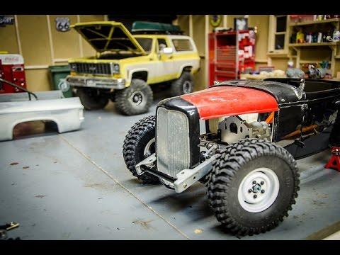 Custom RC Rat Rod Build Part 7 Crazy Front Suspension Setup