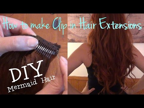 ♥ How To Make Clip In Hair Extensions ♥