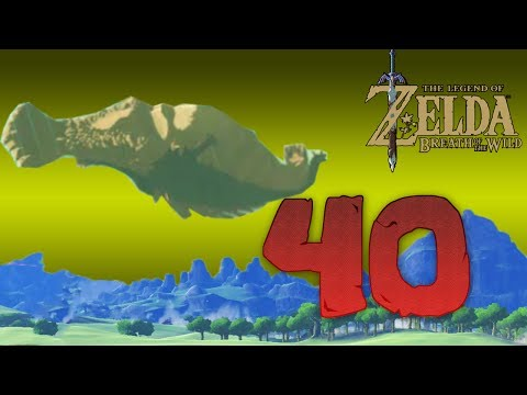 Zelda Breath of The Wild [40]: Super Molduga Massacre