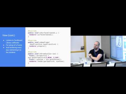 Droidcon NYC 2016 - Virtual Reality in Android (Code Lab)