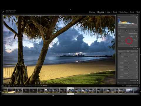 Using the Crop Tool in Lightroom to create a Facebook Banner size photo