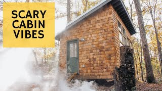 My Cabin is Haunted - Cabin Build Ep.47