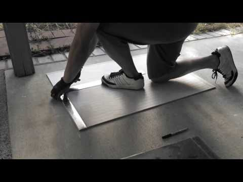 How to Cut Cement Board/Hardibacker, 3 Easy Steps, & Outlet Cutouts