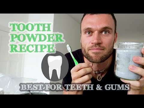 How to Make Toothpowder, Healthy Recipe (Fluoride Free): Best for Teeth and Gums, no Tooth Decay
