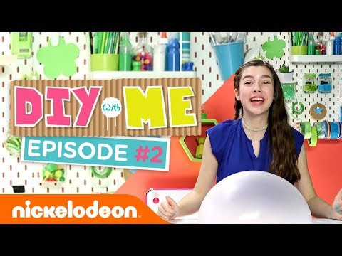 Make Henry Danger Fluffy Slime & Bubblegum Rug 🍬 DIY With Me Ep. 2| Nick