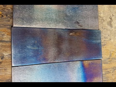 How to Temper Colours in Steel?