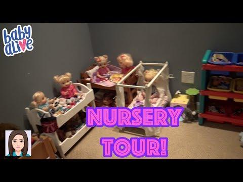 Updated Baby Alive Nursery Tour! New Nursery!