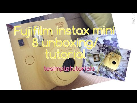 Fujifilm Instax Mini 8 Unboxing and How To