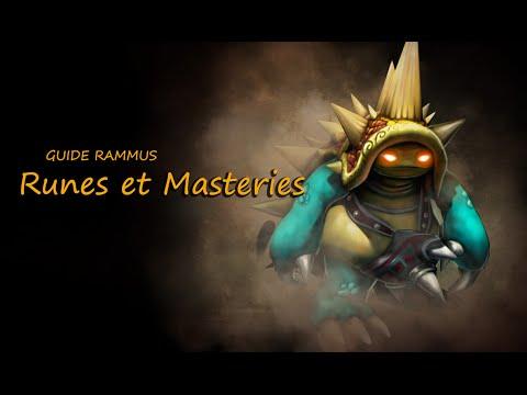 League of Legends: Guide Rammus Runes et Masteries