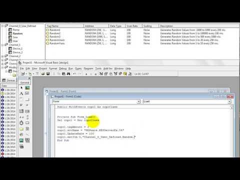 Create SCADA with COPCDLL on Visual Basic 6