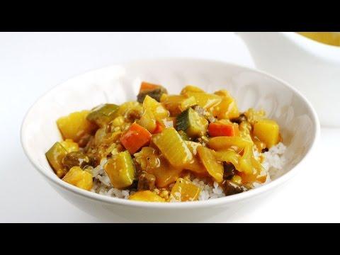 Curry Rice Recipe 카레라이스 만들기 - 한글자막