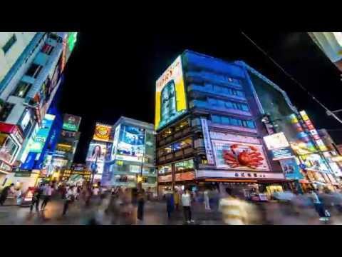 JAPAN Timelapse in 4K | Okinawa - Osaka - Tokyo