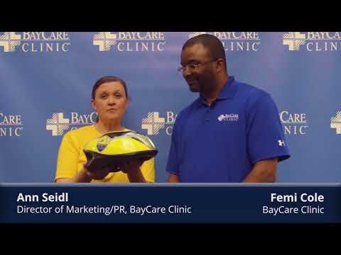 BayCare Clinic Minute: Why BayCare Clinic donates bike helmets