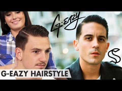 Hair tutorial G-EAZY - Slick back side-parting - Hair Men Inspiration