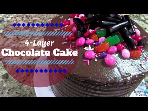 How to Make A BOMB Chocolate Cake-- Super Rich & Moist