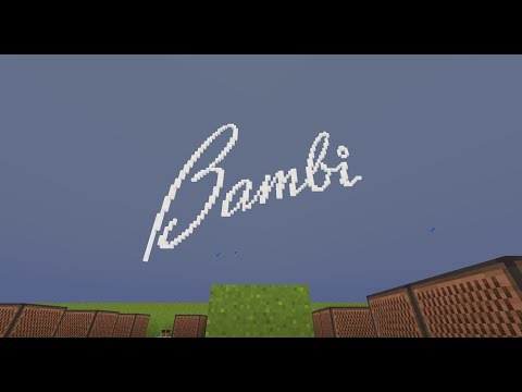 Bambi - Little April Showers [Minecraft Noteblocks]