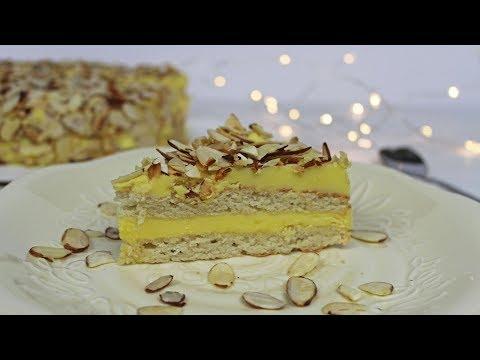 Swedish Almond Cake | Almond IKEA Cake | Gluten-free Almond Cake