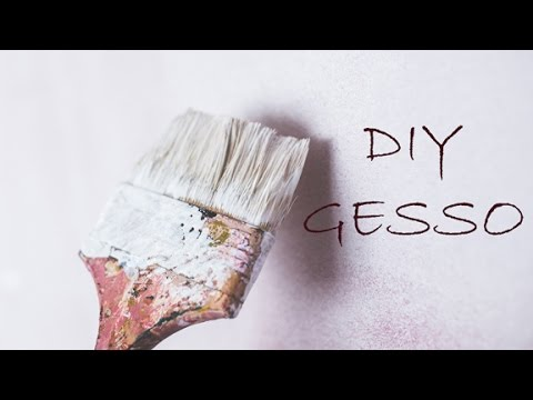 DIY How to Make Your Own Gesso - A Minimalist's Guide to Art