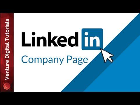 Create A LinkedIn Company Page - How To