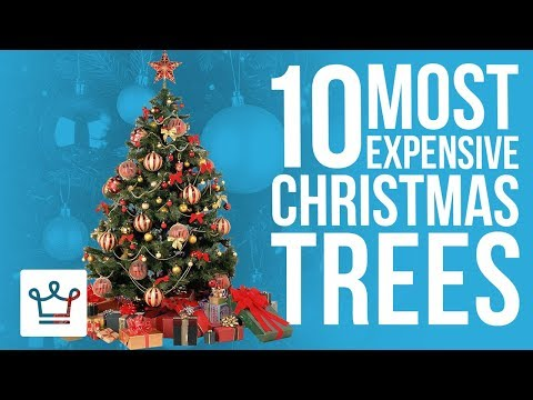 Top 10 Most Expensive Christmas Trees In The World