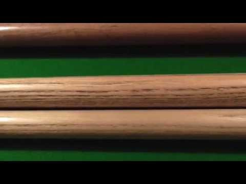 Andy Hunter offers advice on selecting a playing cue