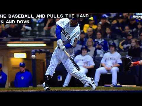Slow-Motion Baseball Bat Shaking After Impact