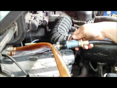 HOWTO 1997 Ford Ranger Heater Core Flush