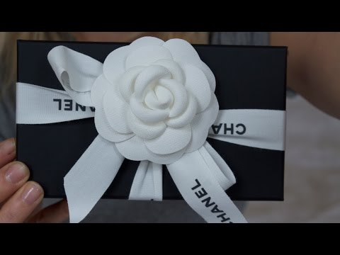 My first Chanel unboxing